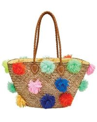 San Diego Hat Company - Women's Seagrass Tote Bsb1566 - Lyst