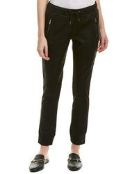 The Kooples - The Leather Effect Active Sweatpant - Lyst