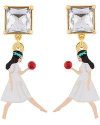 Les Nereides - Snow White Earrings - Lyst