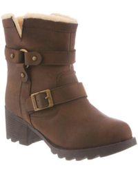 BEARPAW | Women's Felicity Ankle Boot | Lyst