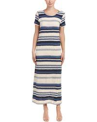 Splendid - Maxi T-shirt Dress - Lyst