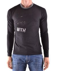 CoSTUME NATIONAL - Men's Black Cotton T-shirt - Lyst