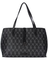 Adrienne Vittadini - Womens Signature Collection Faux Leather Logo Tote  Handbag - Lyst 08055157de09b