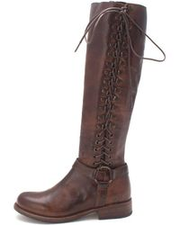Bed Stu - Womens Burnly Leather Closed Toe Mid-calf Fashion Boots - Lyst