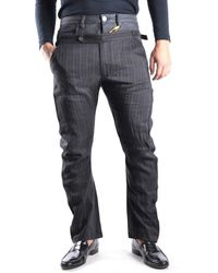 John Galliano | Men's Mcbi130008o Grey Linen Pants | Lyst