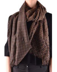 Altea | Women's Brown Wool Scarf | Lyst