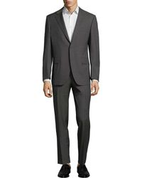 Canali - Slim-fit Wool Suit - Lyst