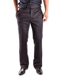 John Galliano - Men's Mcbi130085o Black Wool Pants - Lyst