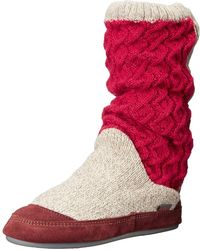 Acorn - Women's Slouch Boot Slipper - Lyst