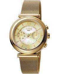 Ferrè Milano - Women's Champagne Dial Stainless Steel Watch - Lyst