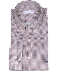 Etro - Men's 125973561100 Multicolor Cotton Shirt - Lyst