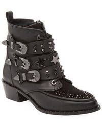 Ivy Kirzhner - Steampunk Studded Ankle Boot - Lyst