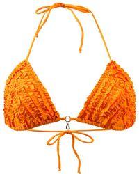 Banana Moon   Triangle Swimsuit Colorsun Rubo Orange   Lyst