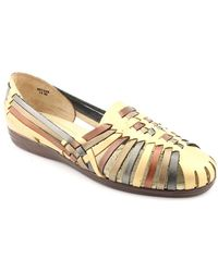 Softspots - Trinidad W Round Toe Leather Flats - Lyst