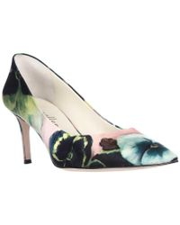 Bettye Muller - Annie Pointed Toe Pumps - Pink Pansy - Lyst