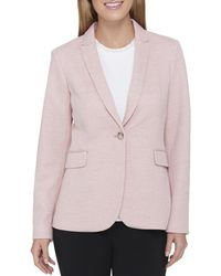 Tommy Hilfiger - Womens Business Casual Work Wear One-button Blazer - Lyst