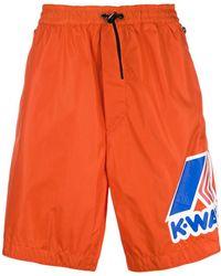 DSquared² | Men's Orange Polyester Trunks | Lyst