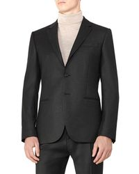 Reiss - Frazier B Modern Fit Wool Jacket - Lyst
