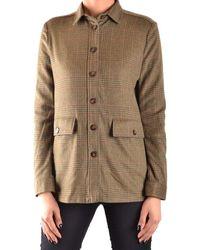 Peuterey - Women's Green Wool Outerwear Jacket - Lyst