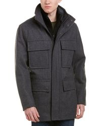 Marc New York - Bevy Wool-blend Coat - Lyst