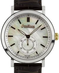 Omikron - Ruffian Men's Vintage Styled Swiss Made Watch - Lyst