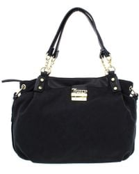 Juicy Couture - Womens Rock Solid Jacquard Studded Satchel Handbag - Lyst
