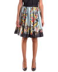 Isola Marras - Women's Multicolor Polyester Skirt - Lyst