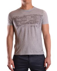 John Galliano - Men's Mcbi130103o Grey Cotton T-shirt - Lyst