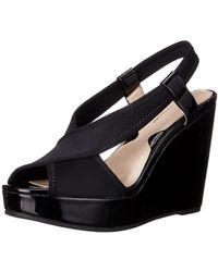 Adrienne Vittadini - Footwear Women's Catri Wedge Sandal - Lyst