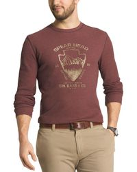 G.H.BASS - Mens Graphic Long Sleeves Thermal Shirt - Lyst