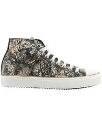 Roberto Cavalli - Men's Mike High Top Sneaker - Lyst