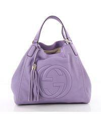 Gucci - Pre Owned Soho Shoulder Bag Leather Medium - Lyst 43077bd07d8d7