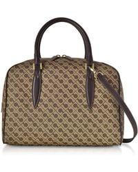 Gherardini - Women's Brown Cotton Handbag - Lyst