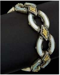 Konstantino - Ismene 18k & Silver 28.00 Ct. Tw. Turquoise & Mother-of-pearl - Lyst