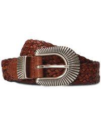 Eleventy - Men's 979ci0057cin2300504 Brown Leather Belt - Lyst