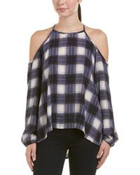 Peach Love CA - Plaid Top - Lyst