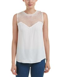 A.L.C. - Nicky Silk-lace Top - Lyst