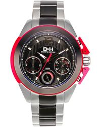 Brandt & Hoffman - Thoreau Men's Swiss Chronograph Watch With Anodized Aluminum Highlights - Lyst