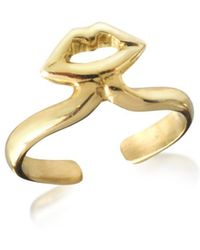 Bernard Delettrez - Women's Gold Metal Ring - Lyst