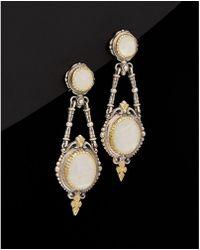 Konstantino - Erato 18k & Silver 9.00 Ct. Tw. Labradorite Earrings - Lyst