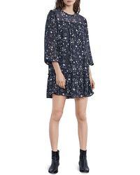 Velvet - Taya Printed Dress - Lyst