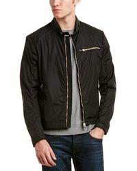 Moncler - Mercure Biker Leather-trim Jacket - Lyst