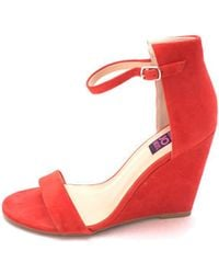 Mojo Moxy - Womens Sorbet Leather Open Toe Casual Ankle Strap Sandals - Lyst