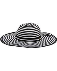 Seafolly - Black Hat Elizabeth Shady Lady - Lyst