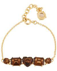 Les Nereides - La Diamantine 5 Smoky Quartz Stones Bracelet - Lyst