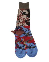 Gosha Rubchinskiy - Men's Multicolour Cotton Socks - Lyst