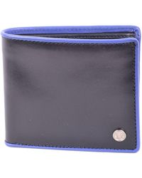 Fred Perry - Men's Blue Leather Wallet - Lyst