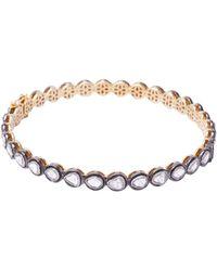 Socheec - Rose Cut Diamond Bracelet - Lyst