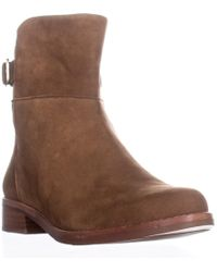 French Connection - Greecia Zip Ankle Booties, Tan/tan - Lyst