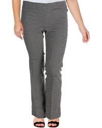 bce51410af3 Nine West - Womens The Trouser Checked No Pockets Dress Pants - Lyst